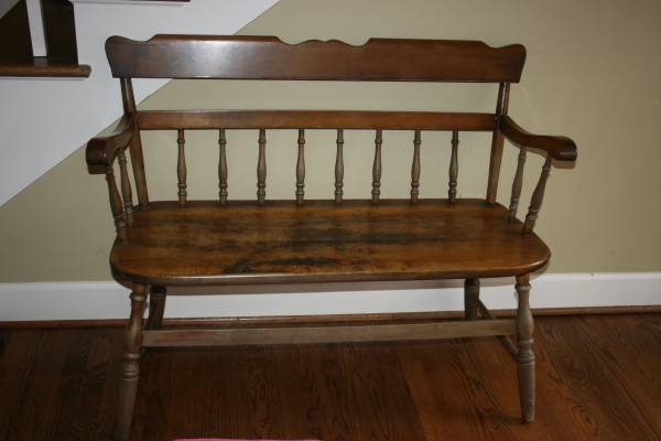 Bench $40  - This bench is priced well and would looks nice as is or could be painted.
