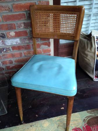 Set of Four Retro Chairs $10 each
