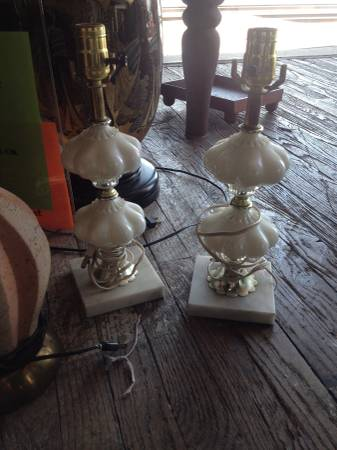 Pair of Vintage Lamps $25
