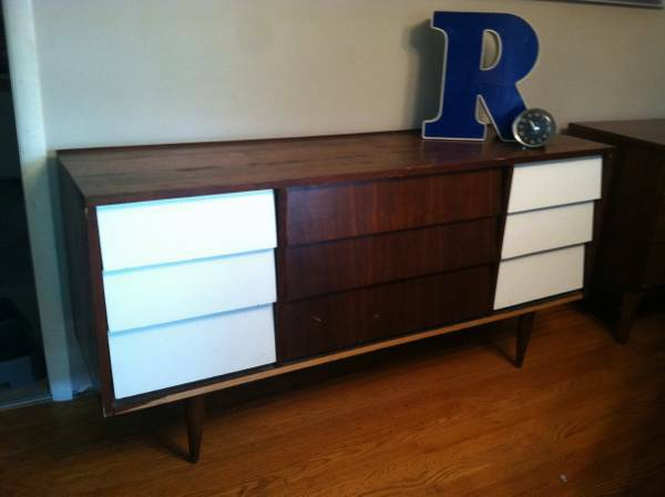 Mid Century Dresser $150