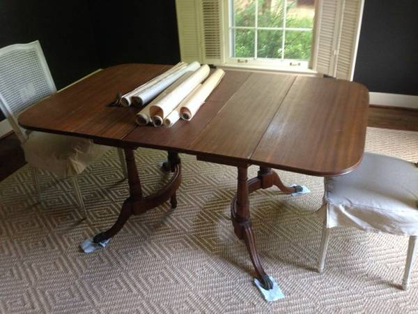 Antique Dropleaf Table $150