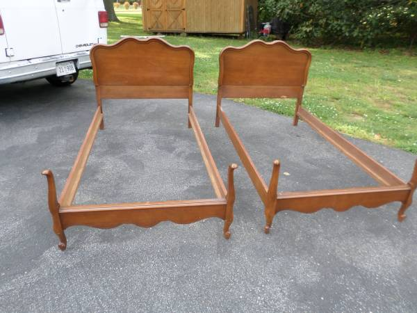French Style Twin Bed $150