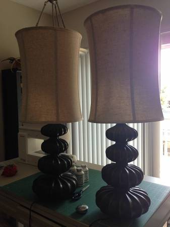Pair of Lamps $40