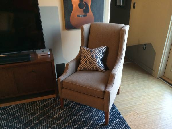 Mitchell Gold Wingback Chair $350