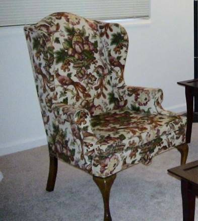 Wingback Chair $15