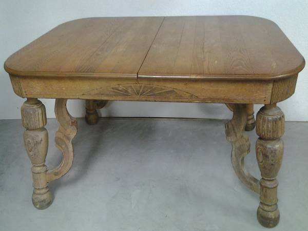 Antique Table with Leaf $150