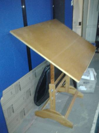 Art/Drafting Table $25  - This is a good price for this piece.