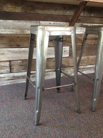 Industrial Barstools $60 each (6 available)