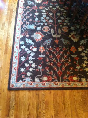 Pottery Barn 12' x 9' rug $350 - This is a large rug and is less than a year old.