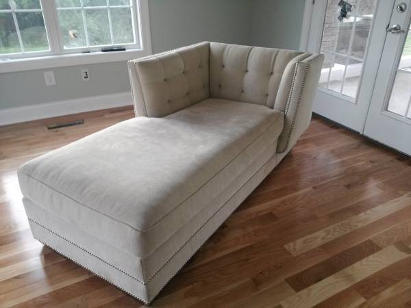 Tufted Chaise Lounge $140