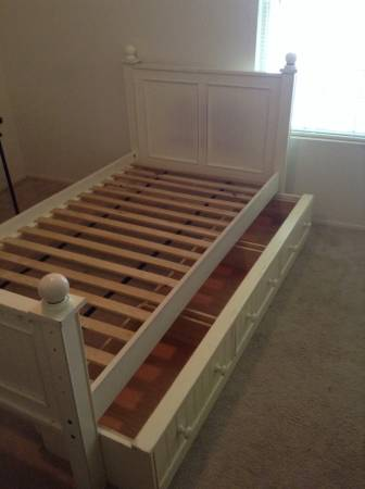 Pair of Twin Beds $125 (or $75 for just one)