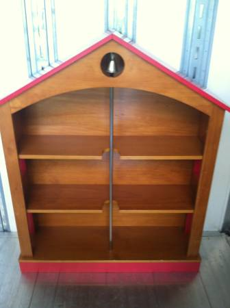 Pottery Barn Firehouse Bookshelf $145