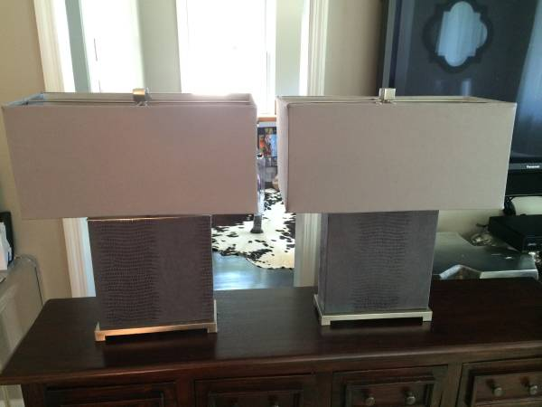Pair of Lamps $100