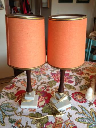 Pair of Mid Century Lamps     $35     View on Craigslist