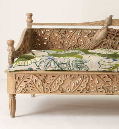 Anthropologie Mango Wood Daybed     $1,000   This daybed was purchased at Anthropologie and retailed for over $3,700.     View on Craigslist