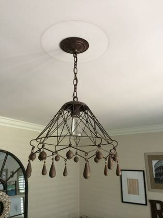 Rustic Lighting (5 pieces available)     $85   Seller has 5 different fixtures for sale, all 5 for $85 or they can be split up.    View on Craigslist