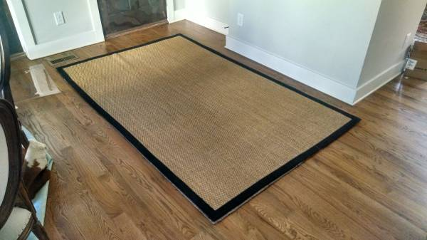 Pottery Barn 5' x 8' Seagrass Rug     $100     View on Craigslist