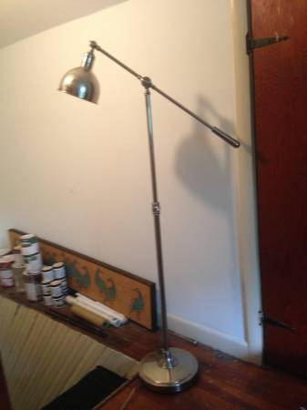 Pottery Barn Cole Task Floor Lamp     $90   This light retails for $199 at  Pottery Barn .      View on Craigslist
