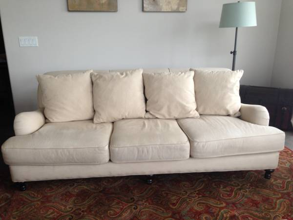 Restoration Hardware Couch $450 View on Craigslist