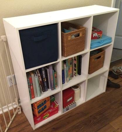 9 Cube Organizer $35 View on Craigslist