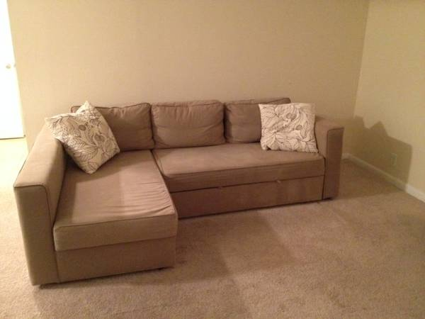 IKEA Manstad Sectional Sleeper $200 View on Craigslist