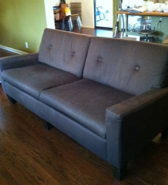 Tufted Modern Sofa     $100     View on Craigslist