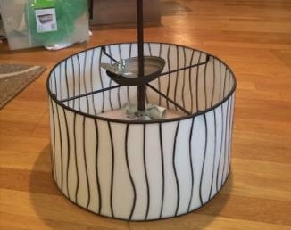 Drum Shade Chandelier     $35     View on Craigslist