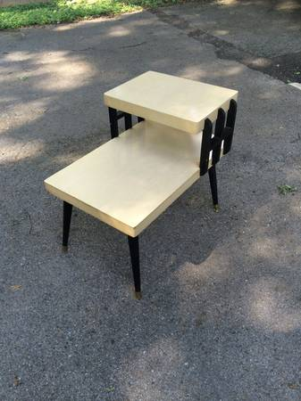 Mid Century End Table $50 View on Craigslist