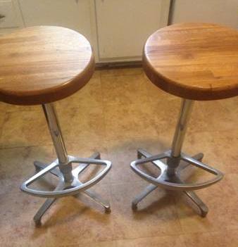 Pair of Vintage Barstools     $50     View on Craigslist