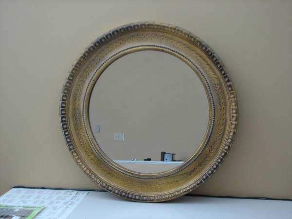 Round Mirror $50 View on Craigslist