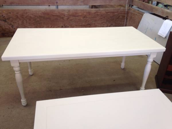 Off White Farm Table $175 View on Craigslist