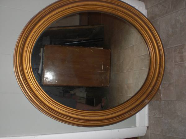 Oval Mirror $25 View on Craigslist