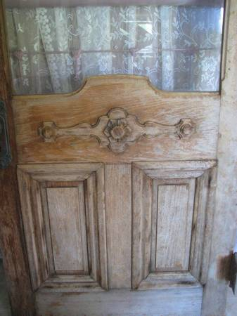 Antique Door $175 This is a beautiful antique door, seller says it is from Vanderbilt University. View on Craigslist
