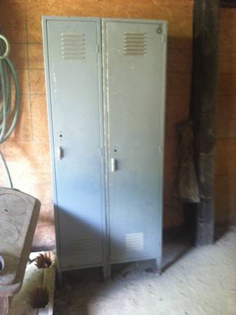 Lockers     $40   This is a great price for these - would be a fun storage space.     View on Craigslist