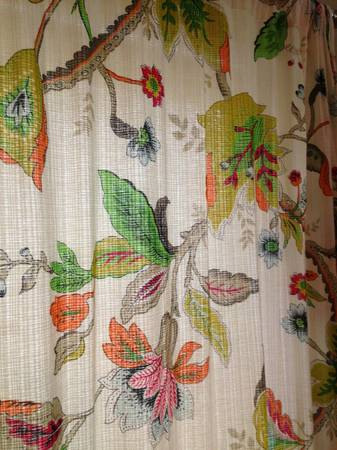 Flower Curtains     $20     View on Craigslist