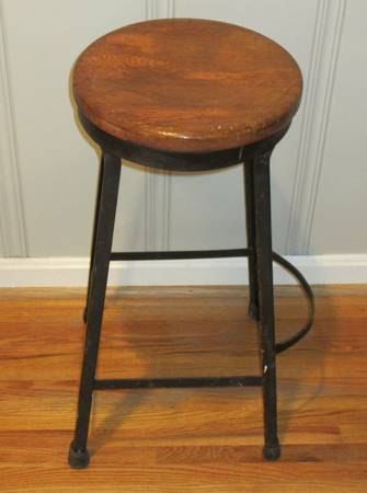 Antique Diner Stool $10 View on Craigslist