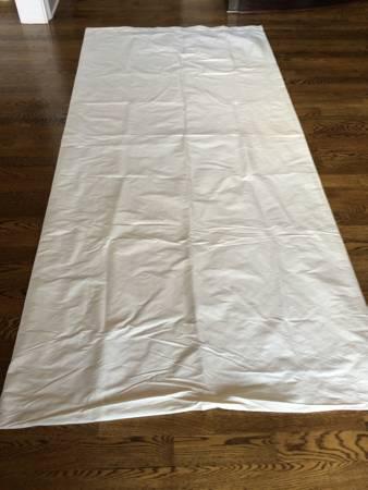 Restoration Hardware Silk Curtains     $60     View on Craigslist