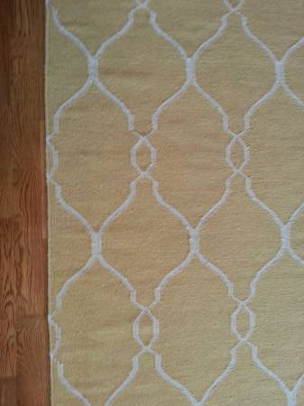 8' x 11' Wool Rug $375 View on Craigslist