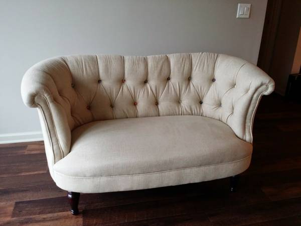 Tufted Love Seat $255 View on Craigslist