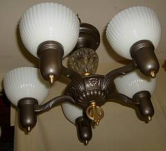 Vintage Art Deco Chandelier     $350     View on Craigslist