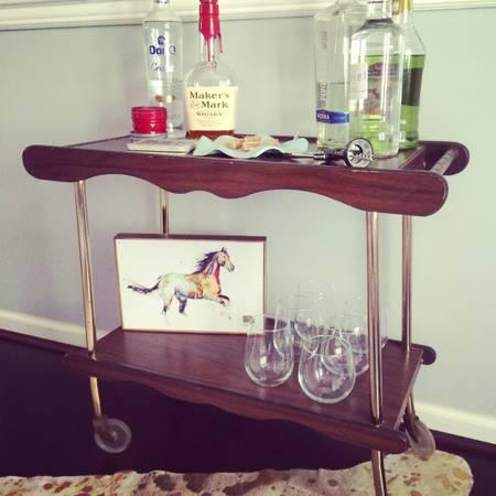 Vintage Bar Cart     $50     View on Craigslist
