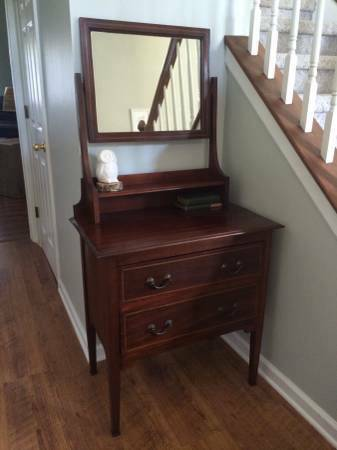 Antique Dresser with Mirror     $175     View on Craigslist