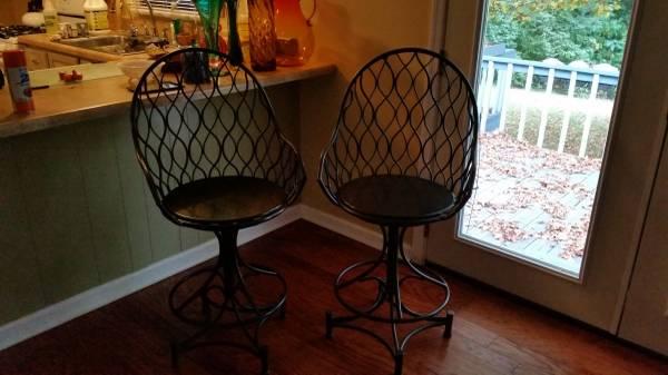 Vintage Metal Barstools     $250     View on Craigslist