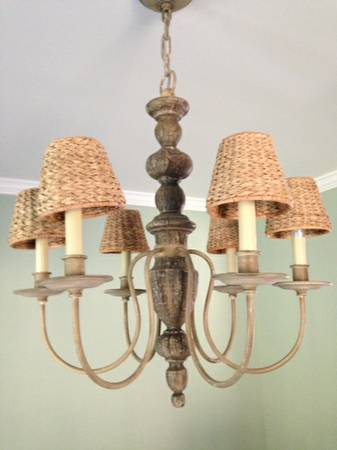 Pottery Barn Chandelier     $100     View on Craigslist