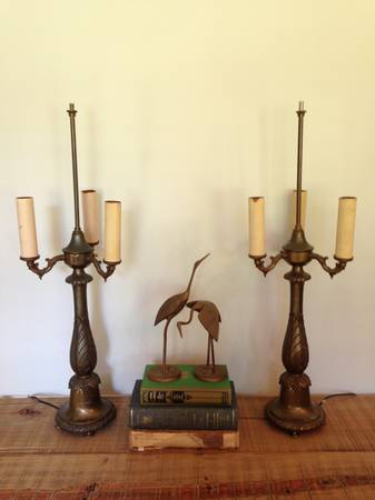 Pair of Vintage Lamps     $60     View on Craigslist