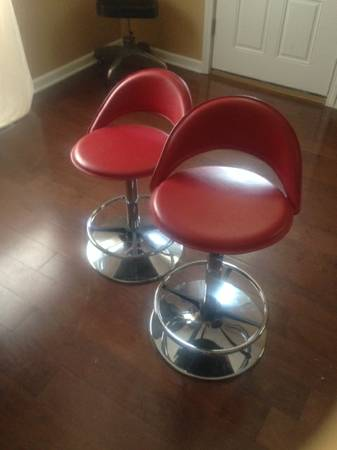 Pair of Retro Barstools     $150     View on Craigslist