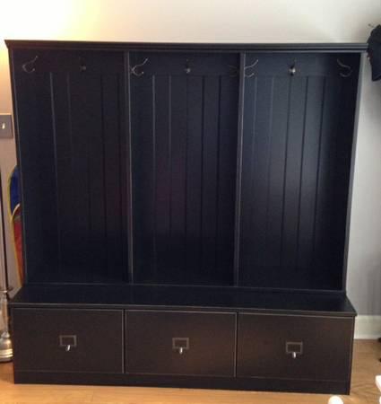 Ballard Designs Mudroom Cabinet     $500     View on Craigslist