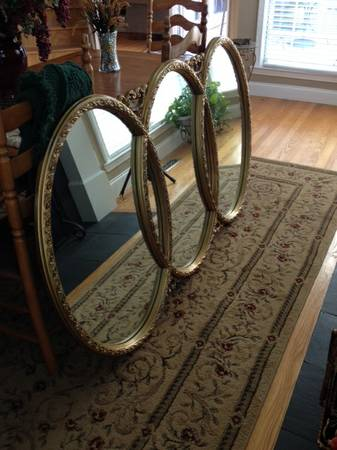 Mirror $160 I think this mirror would be really pretty over a double vanity in a master bathroom. View on Craigslist