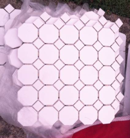 44 Sq. Ft. Octagonal Tile $100 View on Craigslist