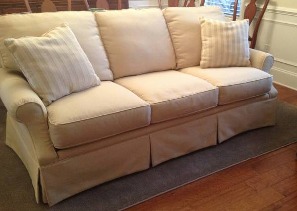 Highland House Sofa     $500   This sofa has been in a formal living room so is in great shape.    View on Craigslist